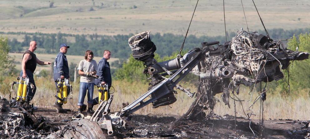 Avion Malaysia Airlines: siniestrado en Donetsk