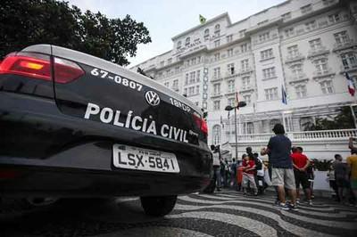 Mundial: Partulla policía operativo reventas