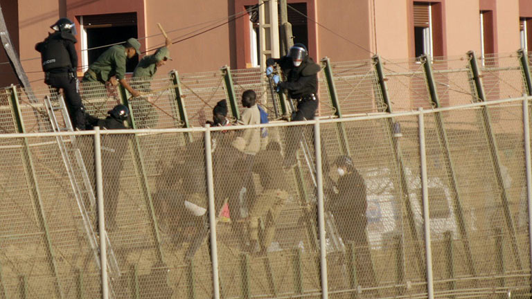 Agresiones contra inmigrantes en España