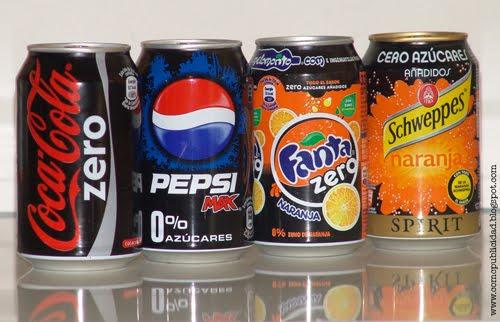 Bebidas sin azucar