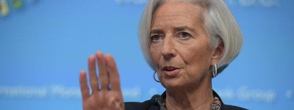 Presidenta del FMI Christine Lagarde