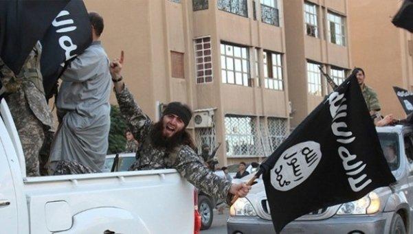 Manifestación del militante del Estado Islámico