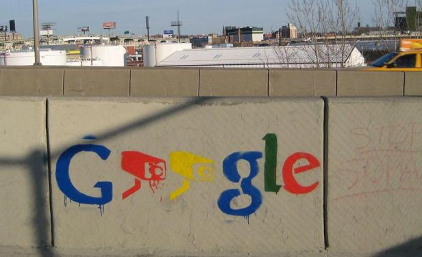 Grafitti de Google
