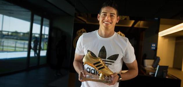 James Rodríguez ha recibido la Bota de Oro
