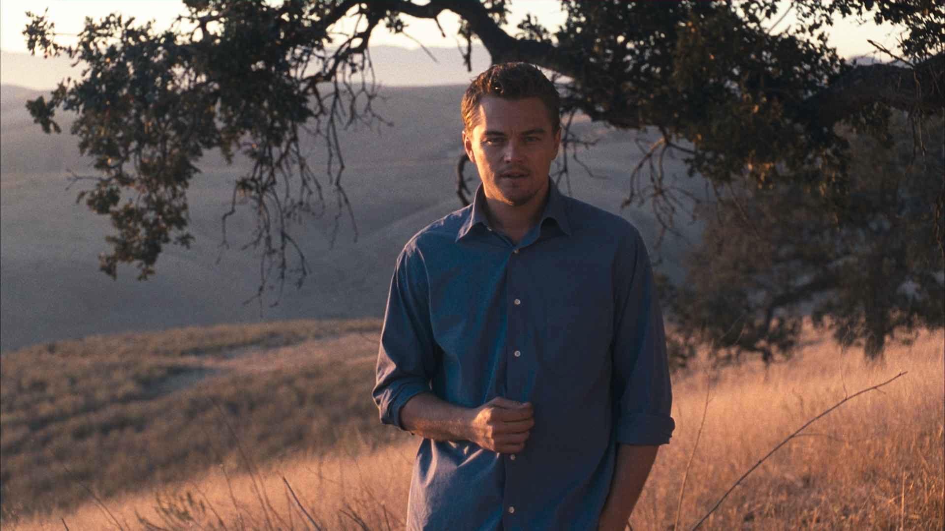 Leonardo Di Caprio al aire libre