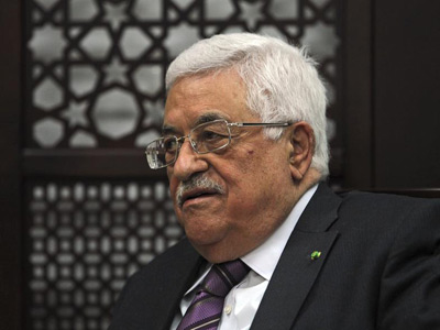 Presidente Palestino Mahmud Abás