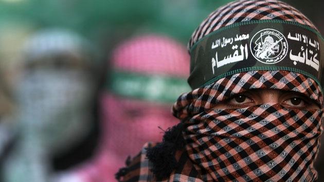 Militante de Hamas Close Up