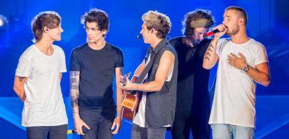 One Direction en el escenario