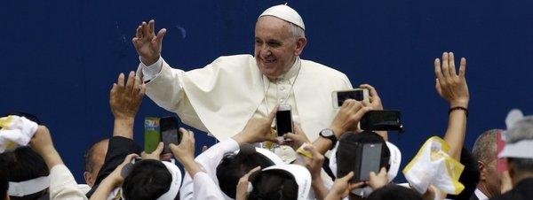 Papa en Corea Sur