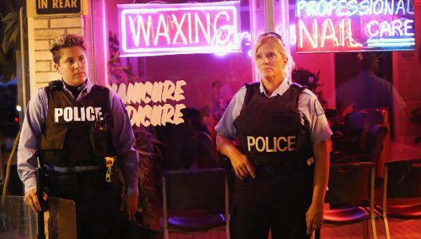 Funcionarias de policía de Fergusson