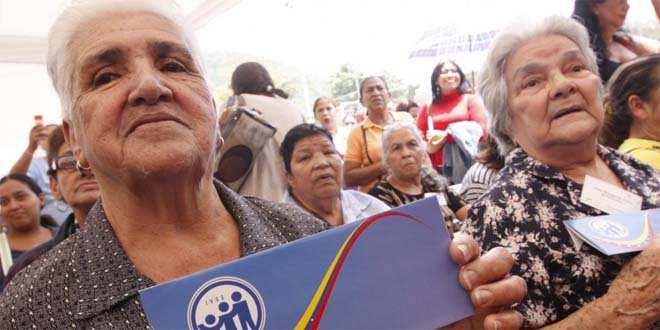 Incorporados 8 mil nuevos pensionados al IVSS