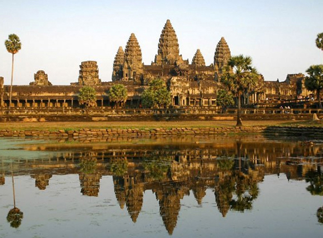 Camboya y la visita al Templo de Angkor Wat.