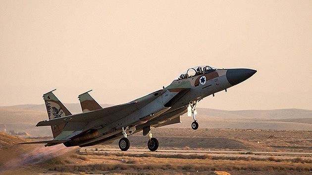 Israel lanza un ataque aéreo