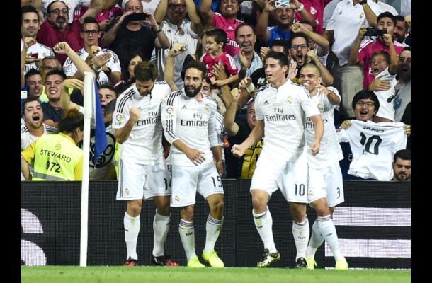 James marcó el gol más feo de la historia