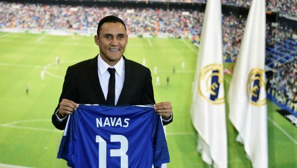Keylor Navas es presentado por el Real Madrid