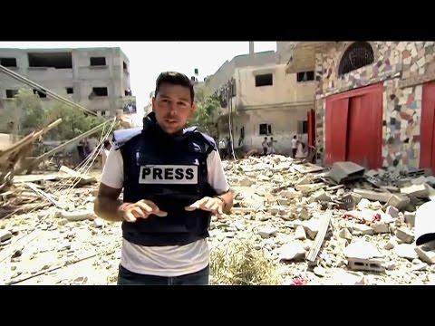 Periodist italiano muere en Gaza