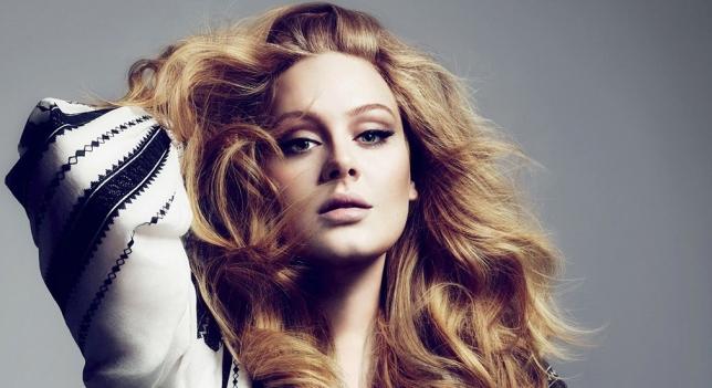 Cantante británica Adele