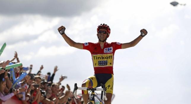 Alberto Contador ganando la vuelta a España