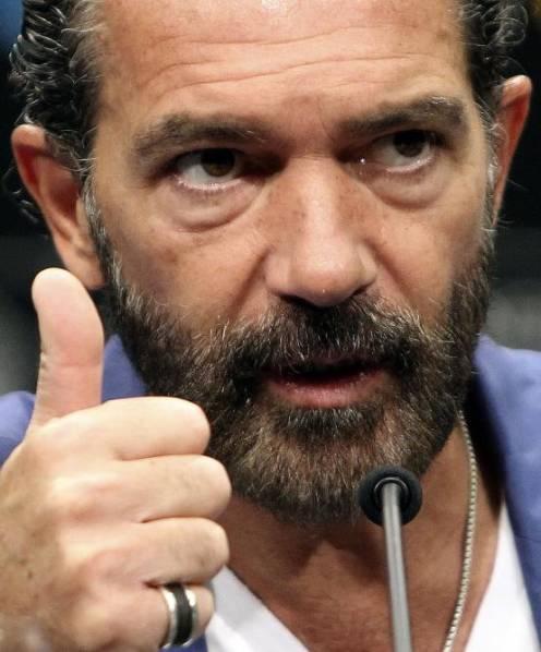 Antonio Banderas en rueda de prensa