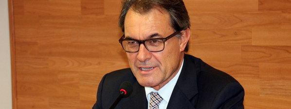 Artur Mas presidente de la Generalitar de Catalunya