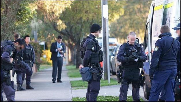 Policía Australiana en redada contra terrorismo