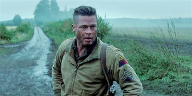 Bradi Pitt en Fury su última película