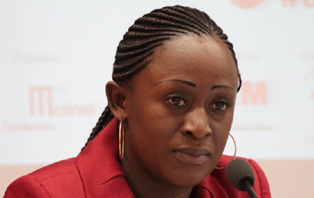 Caddy Adzuba periodista congoleña