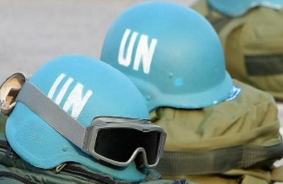 Los cascos azules