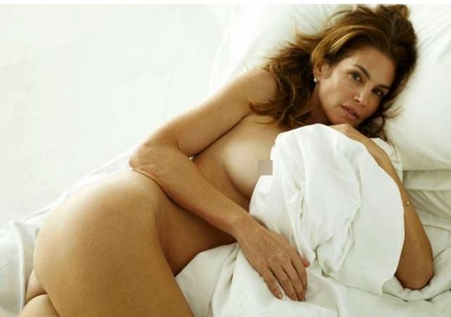Cindy Crawford desnudo natural