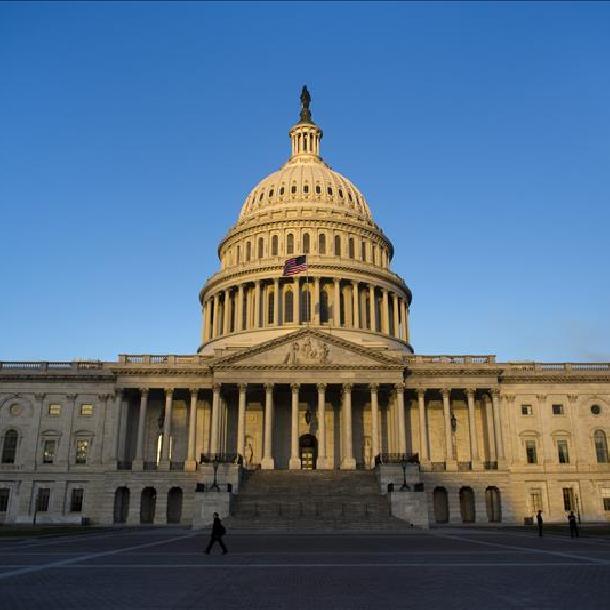 Fachada del Congreso de los Estados Unidos