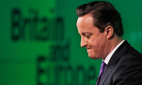 Primer Ministro Inglés David Cameron