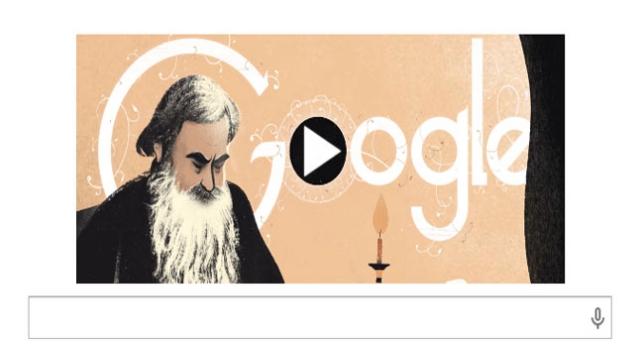 Doodle de León Tolstoi