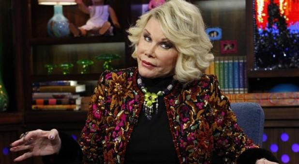 Joan Rivers presentadora de televisión