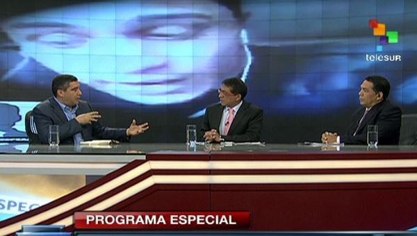 Ministro Rodríguez Torres en entrevista en teleSur