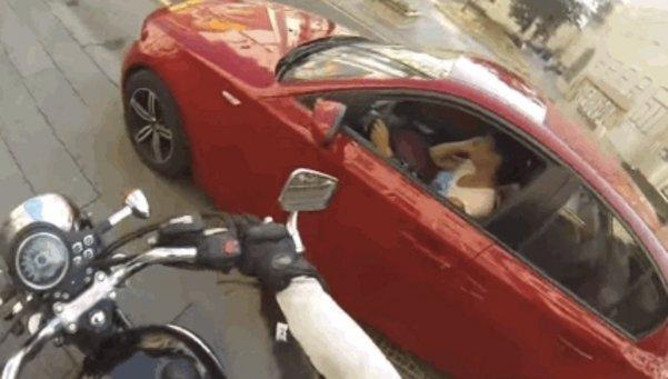 Motociclista Justuciera