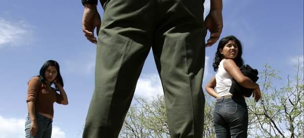 Niñas migrantes centroamericanas