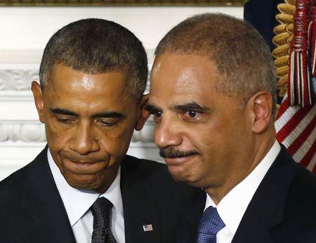 Obama y Holder