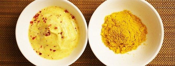 Dos platos con curry