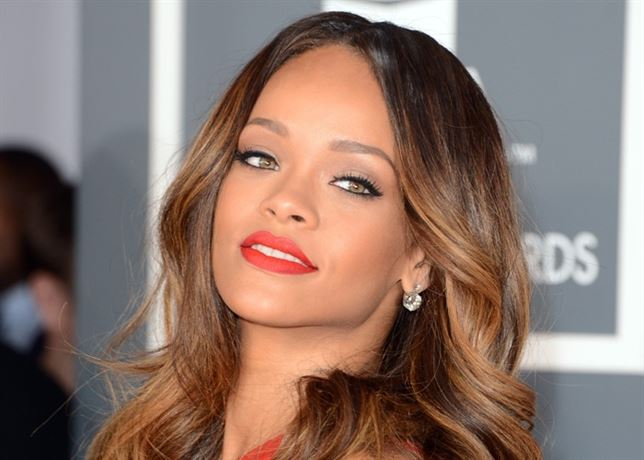 Rihanna close up