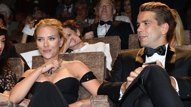 Scarlett Johansson y el padre de su hija