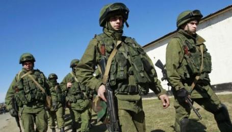 Tropas ucranianas lista para combatir