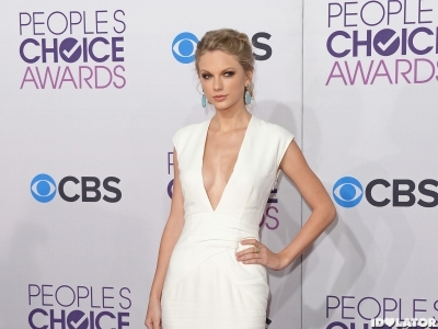 Taylos Swift en el photocall