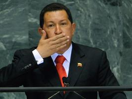 Presidente Chávez en la ONU en el 2006