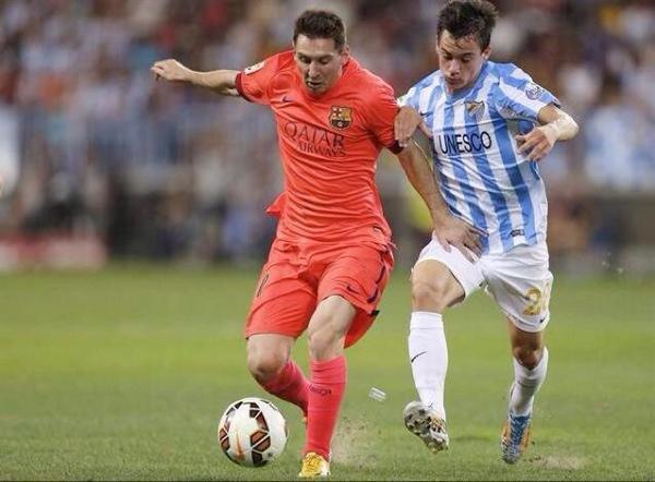 Messi y Juan Pablo Añor