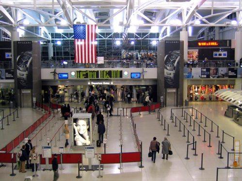 Interiores Aeropuerto Kennedy
