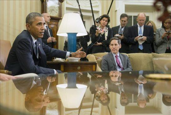 Obama gabinete crisis ébola