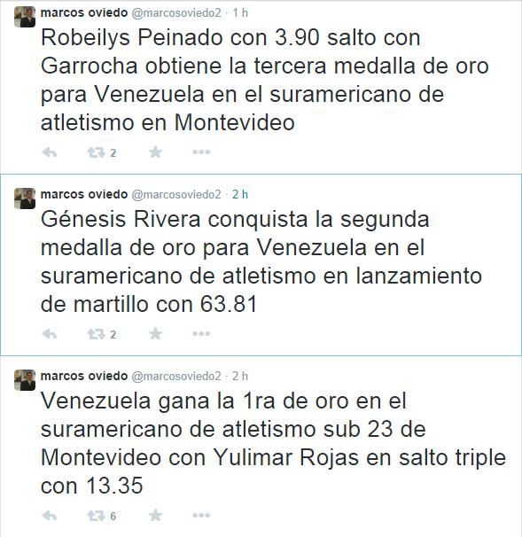 Suramericano de Atletismo sub 23