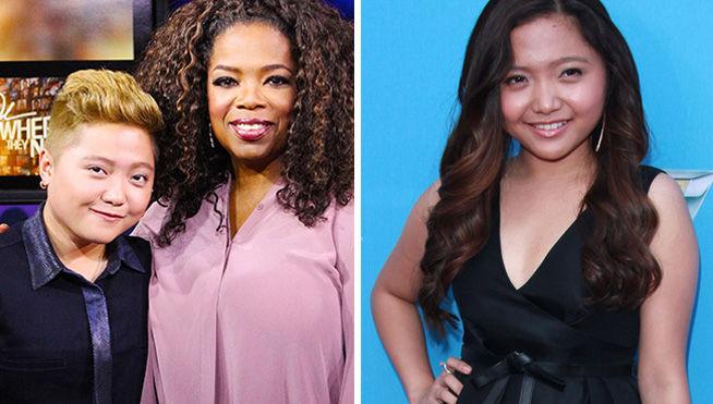 Composición Clarice Pempengco y Oprah