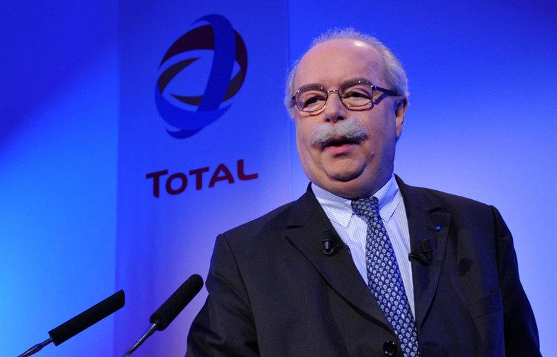 Christophe de Margerie , presidente de Total