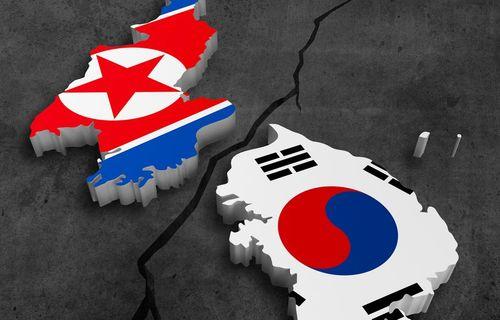 Mapas de las dos Coreas